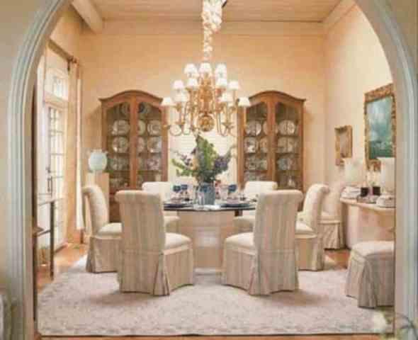 romantic dining room 416_Decor