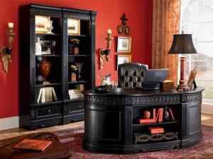 Elegant Britannia Rose Home Office Design Decoration Idea
