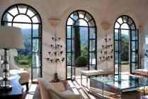 Luxury Italian Villa-living room with view
