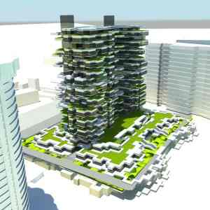 The Acapulco Green Tower_a495_3D Architecture