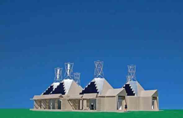 The Power House In Valencia By Michael Jantzen