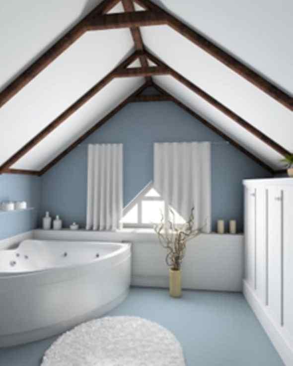 minimalist small bathroom