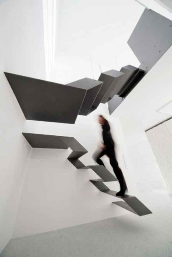 black and white floating at F27 by Schlosser + Partners