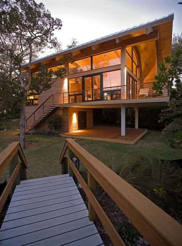 Design of Hammock guest house