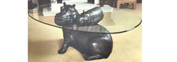 hippo and baby coffee table