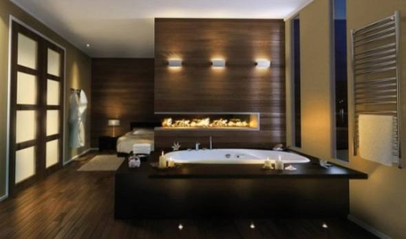luxury spa bathroom design by Pearl Baths