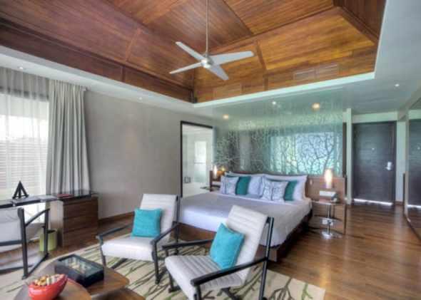 Bedroom Area Niyama Hotel in the Maldives