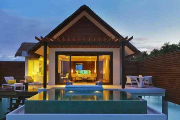 Exterior Niyama Hotel in the Maldives