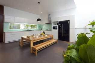 Simple Elegant Dining Set - Sophisticated Modern Penthouse Design