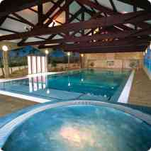 Pool with Jacuzzi - Indoor Swimming Pool
