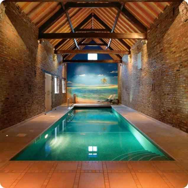 Pretty Looking Indoor Pool - Indoor Swimming Pool
