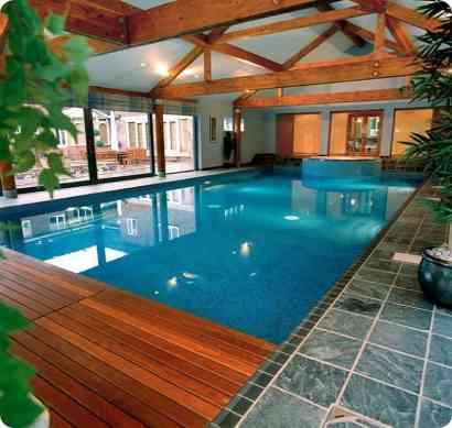 Tranquil Looking Indoor Pool - Indoor Swimming Pool