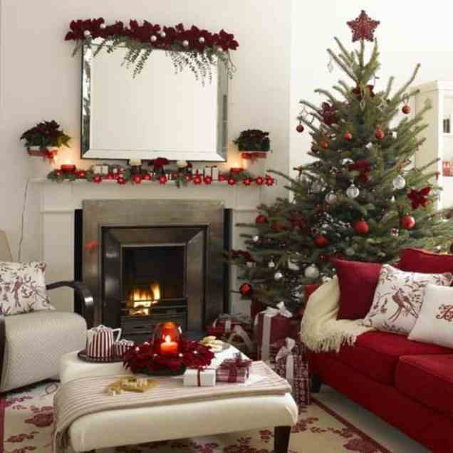 Christmas Home Red Decoration