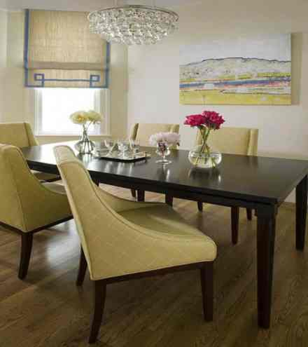 Cream Yellow Upholstery Accent Chairs
