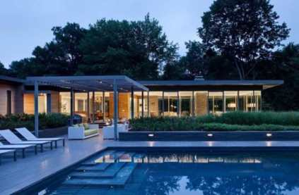 Outdoor Swimming Pool by Ohlhausen BuBois Architects