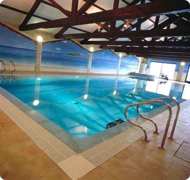 Well Lit Indoor Pool