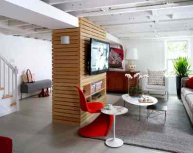 Converting Basement - Modern Family Rooms