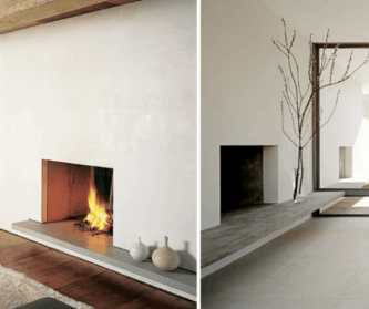 ArchitectureDecor - Unique Fireplace - Simple Concept of Fireplace