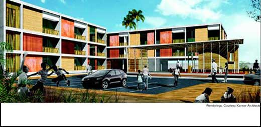 Modern Green Architecture in Accra