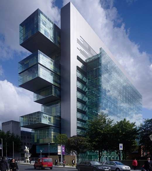 Manchester Civil Justice Centre in England