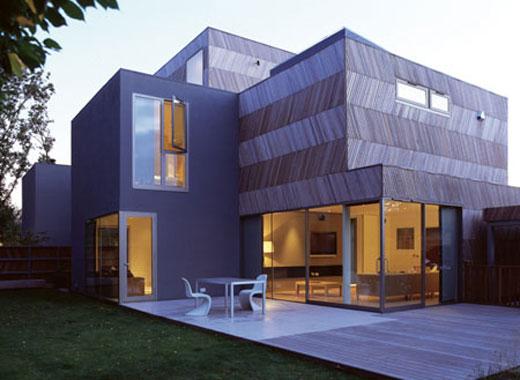 Herringbone Houses by Alison Brooks Architects