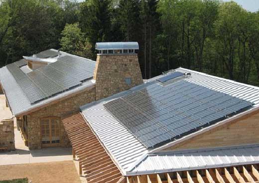 LEED-platinum carbon neutral building
