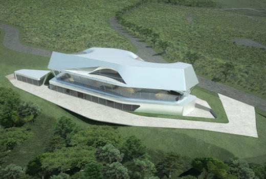 Symbiotic Villa by Zaha Hadid