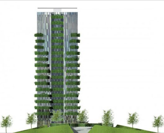 sustainable residential tower
