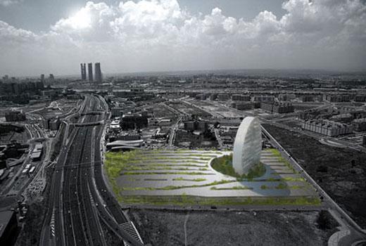 BBVA headquarters by Herzog & de Meuron