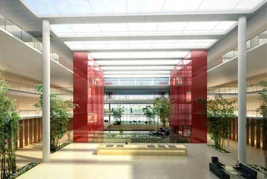 China Life Insurance R&D Center in Beijing by Henn Architekten