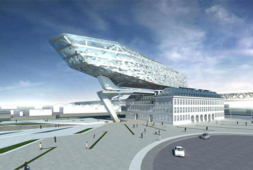 New Port House in Antwerp by Zaha Hadid