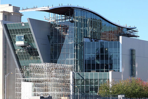 The new Connecticut Science Center in Hartford