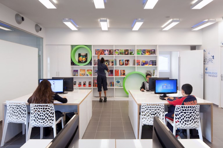 YRF English Studies Building for Children, Israel / by Ron Fleisher Architects