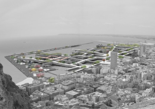 HyperAlicante - A Vision for a New Urban Space / by hiddenoffice