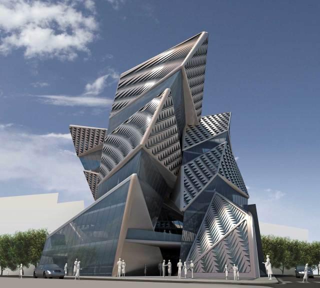 New Headquarters of Benetton, Teheran / by AquiliAlberg