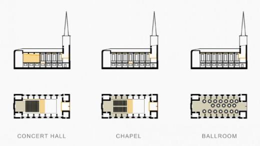 Vabaduse Square / St Paul's Church / Arvo Pärt Concert Hall / by MINUSPLUS