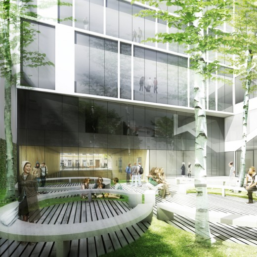Embelgasse Vocational School of Administration, Vienna / by AllesWirdGut