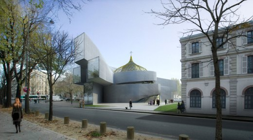 Orthodox Center, Paris 7e (75) / by Atelier Zündel & Cristea