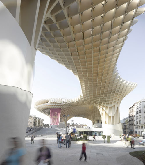 Completion of Metropol Parasol / by J. MAYER H. Architects