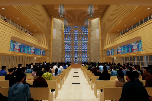 SaRang Church's Global Ministry Center, Soul / by The Beck Group