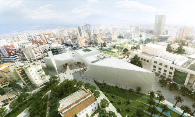 Cultural Complex in Albania /by BIG