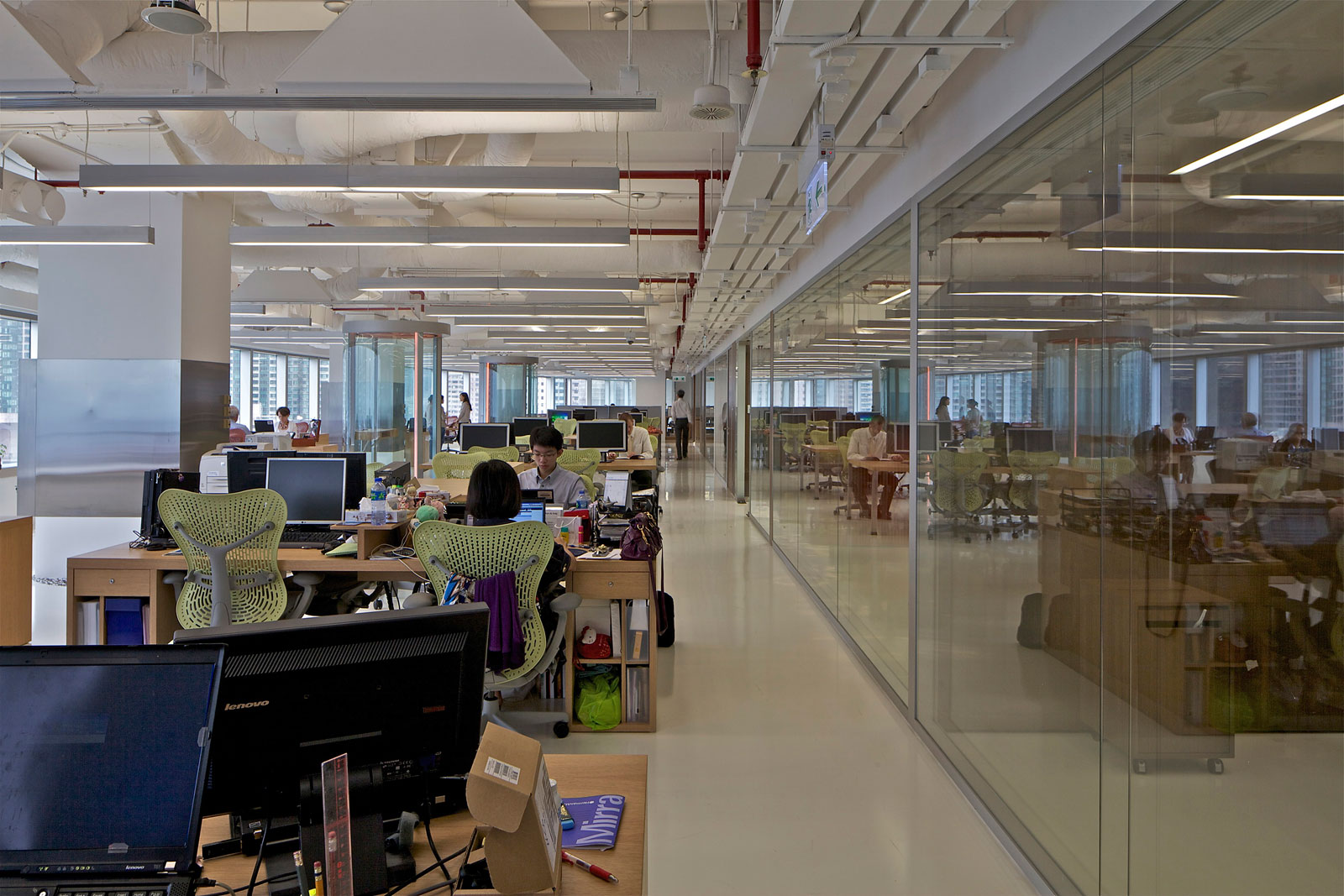 New Office Space For McKinsey U0026 Company In Hong Kong / By OMA