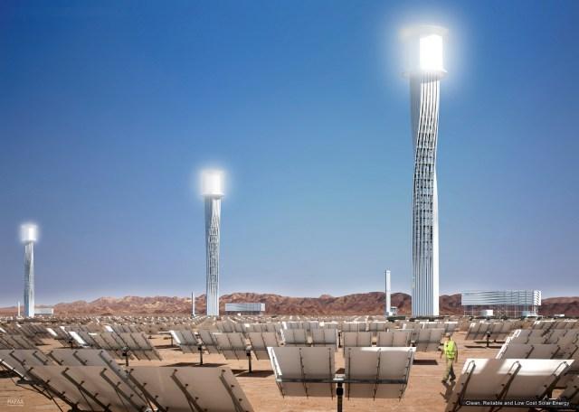 Solar Plant Towers, Ivanpah / by RAFAA