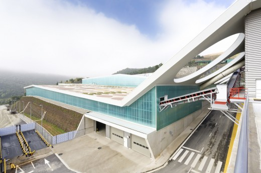 Waste Treatment Facility, in Vacarisses in Spain, designed by Batlle & Roig