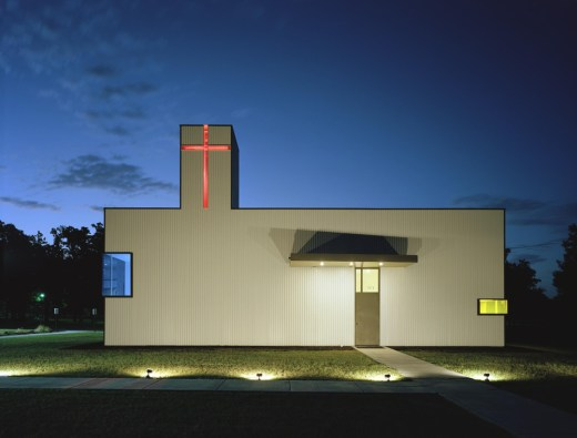 Saint Nicholas Antiochian Orthodox Christian Church, USA, designed by Marlon Blackwell Architect