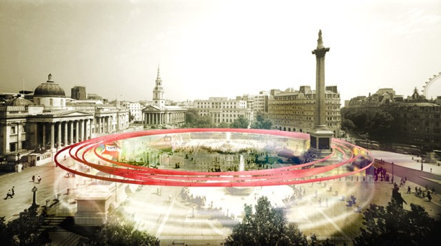 MIND THE GAP, London 2012 Information Pavillion / by DCPP arquitectos