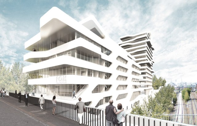 New Institute Building for FOM, Duesseldorf, Germany / by J. MAYER H. Architects