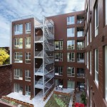 urban housing project, Irène in Montreal's borough, St-Henri,