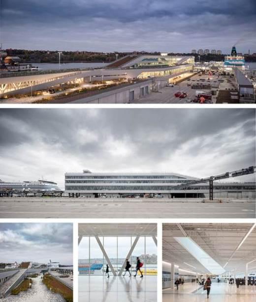 ew ferry terminal in Stockholm