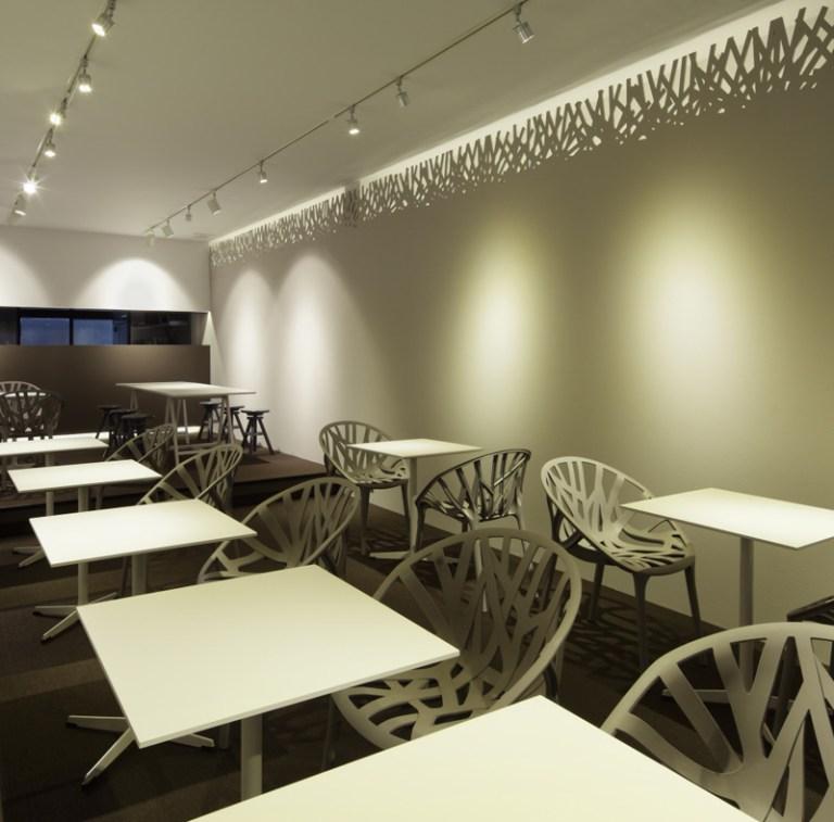 AG cafe by Kidosaki Architects Studio